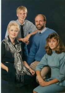 Stratton Family Pic 1980s