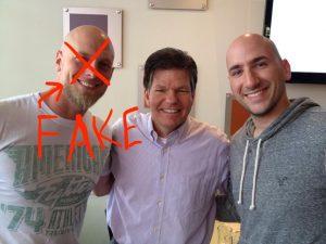 Tim Stratton is fake